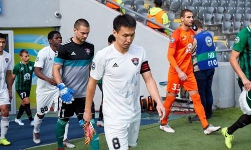 Лидера «Кайсара» дисквалифицировали на пять матчей