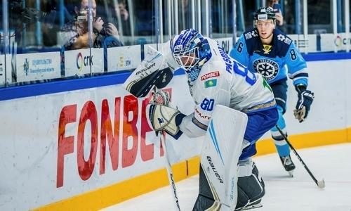 Отчет о матче КХЛ «Сибирь» — «Барыс» 0:2