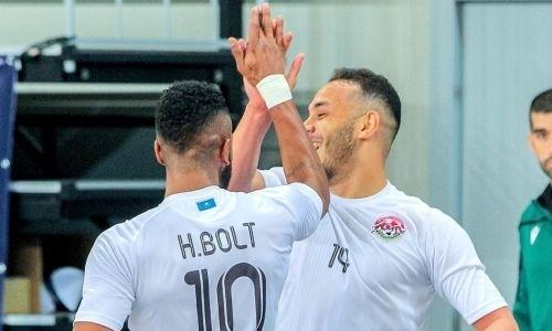 Казахстанский клуб забил три гола чемпиону России и вышел в элитный раунд Лиги Чемпионов