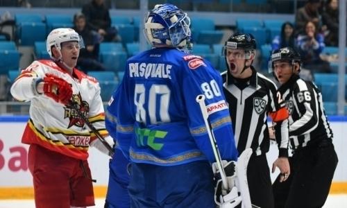 «Несмогли ничего поделать». КХЛ назвала главного творца победы «Барыса» над «Сибирью»