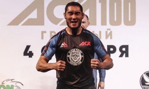 «До титульного боя еще далековато». Казахстанский боец ММА о нокауте россиянина в первом раунде, тренировках в Махачкале и UFC