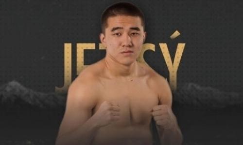 Чемпион WSB из Казахстана с более чем 200 боями в любителях нокаутом после двух нокдаунов открыл вечер бокса в Алматы