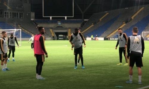 Сборная Бельгии провела открытую тренировку в Нур-Султане перед матчем с Казахстаном. Видео