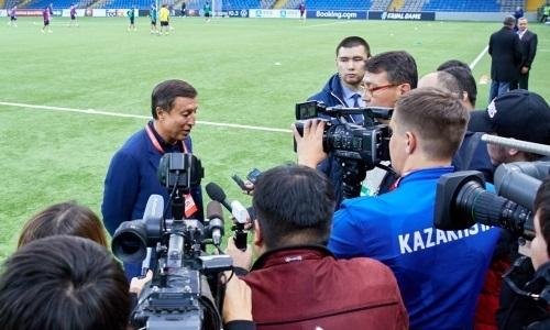 Президент КФФ поделился ожиданиями о предстоящем матче отбора ЕВРО-2020 Казахстан — Бельгия. Видео