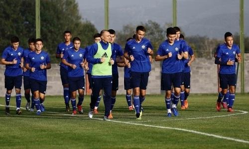Юношеская сборная Казахстана до 19 лет уступила Грузии в матче отбора ЕВРО-2020