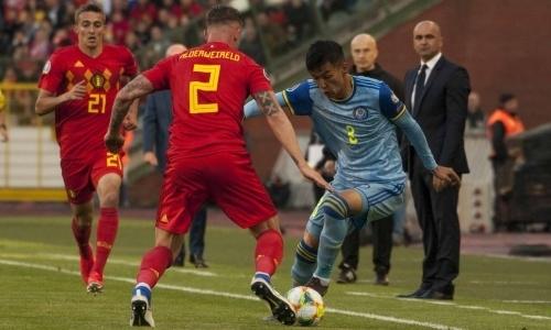 Прямая трансляция матча Казахстан — Бельгия в отборе на ЕВРО-2020
