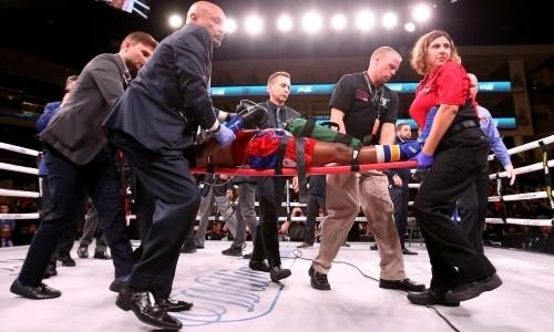 Американский боксер после поражения нокаутом в андекарде у Усика впал в кому. Видео