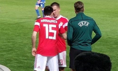 Появилось фото страшной травмы футболиста сборной России в матче с Кипром