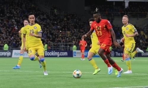 «Чтобы каждый увидел его трусы». В России удивили оценкой матча Казахстан — Бельгия