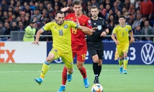 Сборная Казахстана реально в чем-то превзошла Бельгию. Официальная статистика УЕФА