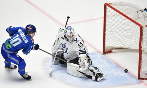 С ними лучше не играть. «Барыс» проиграл третий подряд матч «Адмиралу» в сезоне КХЛ