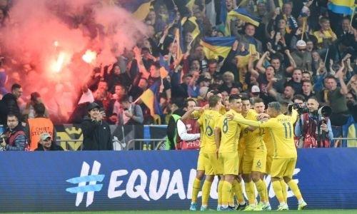 Сборная Украины в меньшинстве победила Португалию с Криштиану Роналду и с первого места вышла на ЕВРО-2020