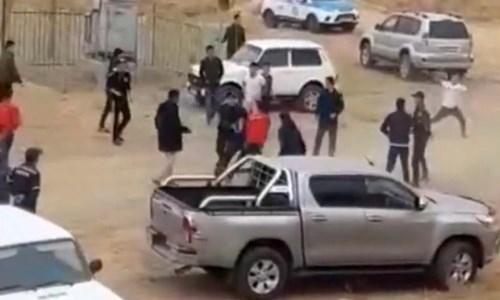 Массовая драка с ножевыми ранениями произошла на скачках в Мангистау. Видео