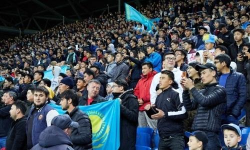 Стало известно, сколько болельщиков посетили октябрьские матчи сборной Казахстана