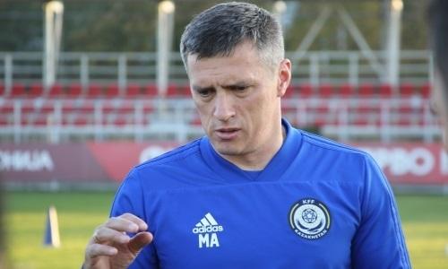 «Нужно играть больше европейских матчей». Наставник молодежной сборной Казахстана подвел итоги игры с Македонией