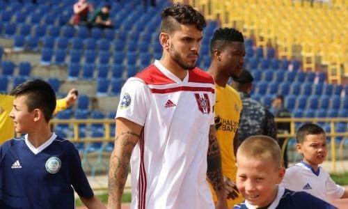 Экс-футболист «Актобе» вернулся в Бразилию
