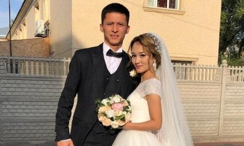 23-летний футболист «Тараза» создал семью
