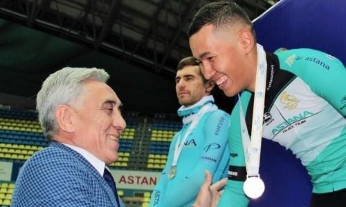 Казахстанец взял серебряную медаль на чемпионате Азии по велотреку