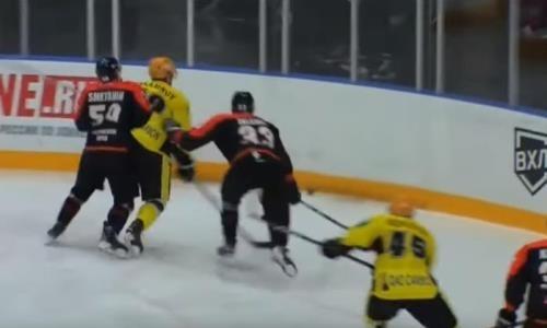 Игрок «Молота-Прикамье» дисквалифицирован после матча с «Сарыаркой»