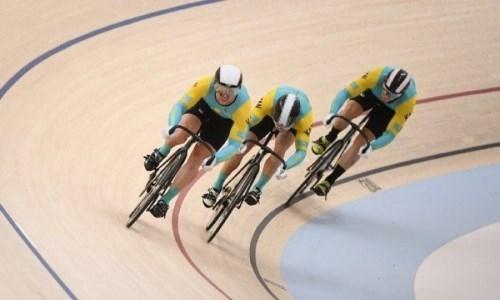 Казахстанец завоевал «золото» на чемпионате Азии по велотреку