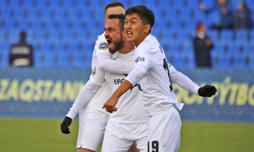«Иртыш» победил «Кайсар» в матче с удалением футболиста сборной Казахстана