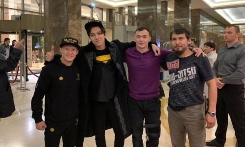 Казахстанский боец впервые услышал Димаша и поделился эмоциями в Instagram