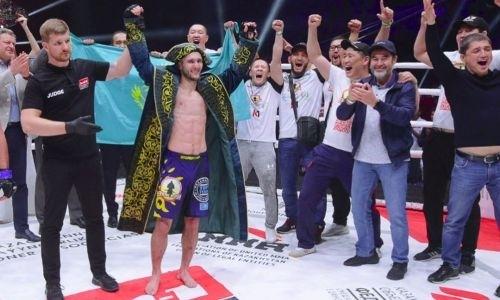 Казахстанец Сергей Морозов взял реванш у американца и защитил титул чемпиона M-1 Global