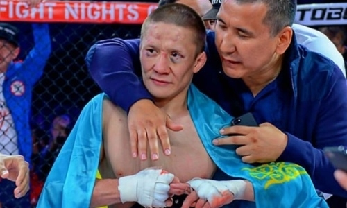 Казахстанец Жалгас Жумагулов победил экс-бойца UFC и защитил титул чемпиона Fight Nights Global