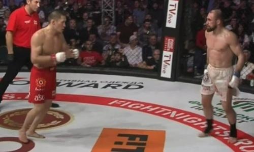 Видео боя казахстанца Жалгаса Жумагулова с экс-бойцом UFC за титул чемпиона Fight Nights Global