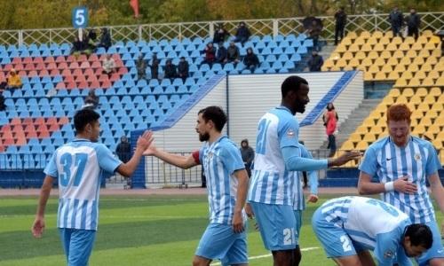 «Кызыл-Жар СК» и «Алтай» сыграли вничью в матче Первой лиги