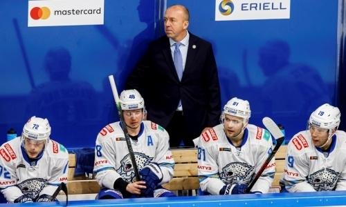 «Барыс» объявил состав на очередной выезд в КХЛ