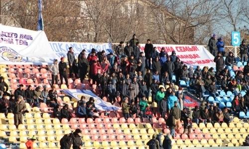 Матч в Петропавловске — самый посещаемый в 24-м туре Первой лиги
