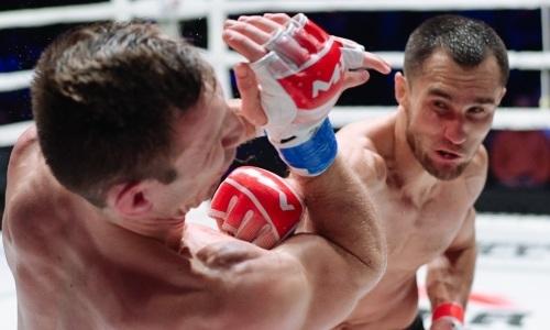«Я был очень зол на него». Казахстанский чемпион M-1 Global о защите титула и реальном шансе в UFC