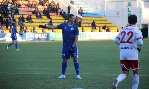 Жасулан Молдакараев — 250 матчей в Премьер-Лиге