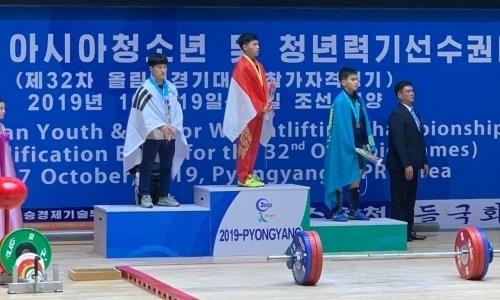 Казахстан завоевал вторую медаль на чемпионате Азии по тяжелой атлетике в КНДР