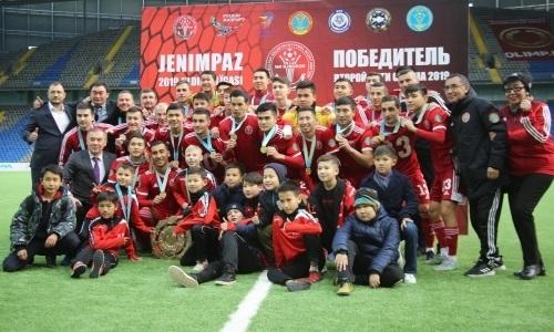 СДЮСШОР №8 наградили за победу во Второй лиге