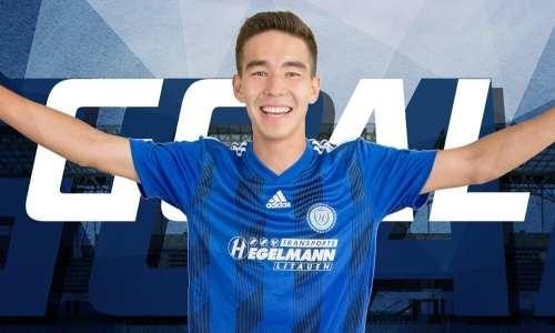 Казахстанский футболист отметился дублем вевропейском чемпионате