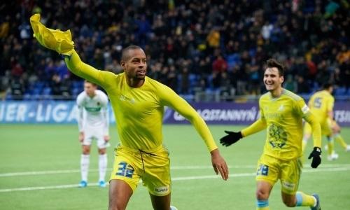 Янга забил десятый мяч за «Астану» в Премьер-Лиге