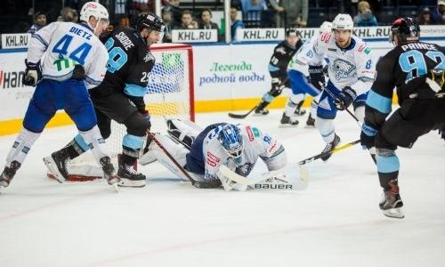 «Владели заметным преимуществом». КХЛ разобрала тяжелую победу «Барыса»