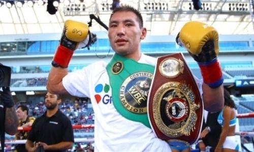 Алимханулы узнал соперника по защите титула WBC в андеркарде известных супертяжей