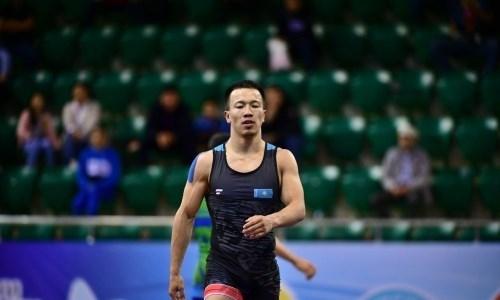 Казахстанский борец стал третьим на Всемирных военных играх