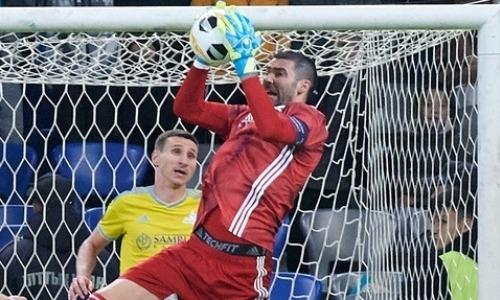 Завершился первый тайм матча Лиги Европы «АЗ Алкмар» — «Астана»