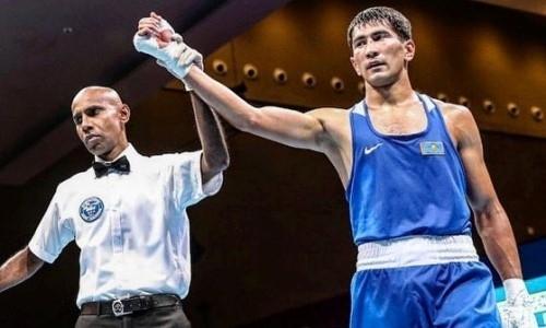 Казахстанец разгромил узбекского боксера в финале Всемирных игр