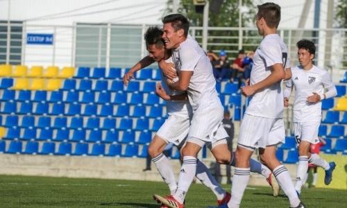 «Жетысу Б» уничтожил «Астану М», забив восемь безответных мячей в матче Первой лиги