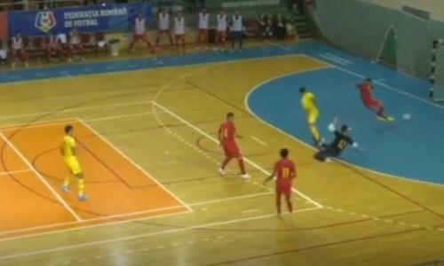 Видео голов, или Как сборная Казахстана по футзалу победила Румынию и выиграла группу отбора на ЧМ-2020