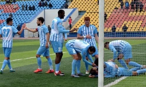 «Кызыл-Жар СК» на выезде разгромил «Академию Оңтүстік» и остался лидером Первой лиги