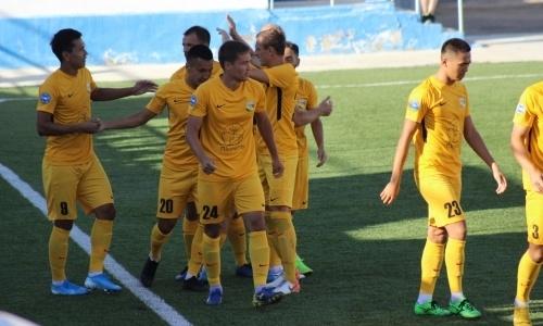 «Каспий» в родных стенах добывает три очка в матче Первой лиги