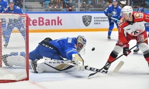 Доус наказал. «Барыс» дома проиграл худшей команде конференции и уступил четвертый подряд матч КХЛ