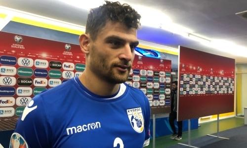 «Мы должны были отреагировать». Автор победного гола сборной Кипра в ворота Казахстана назвал ключевой момент и озвучил ошибку Билека