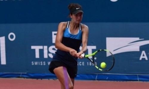 Казахстанская теннисистка вышла в финал турнира ITF в Парагвае
